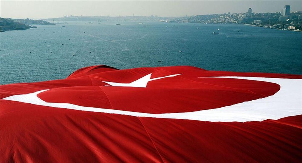 Boğazlar- Montrö- Türk bayrağı