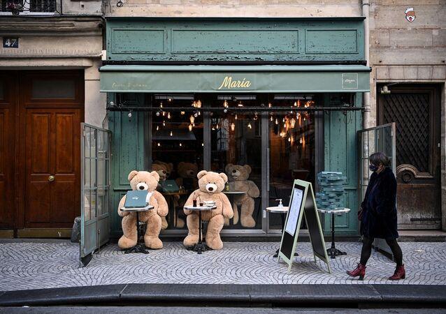 Paris - Fransa - maske