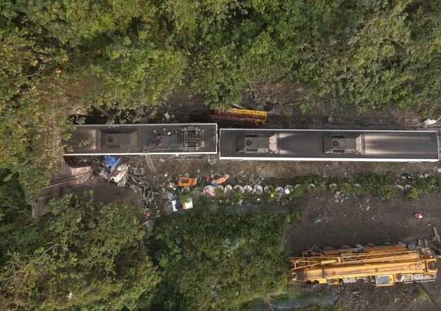 Tayvan'daki tren kazası