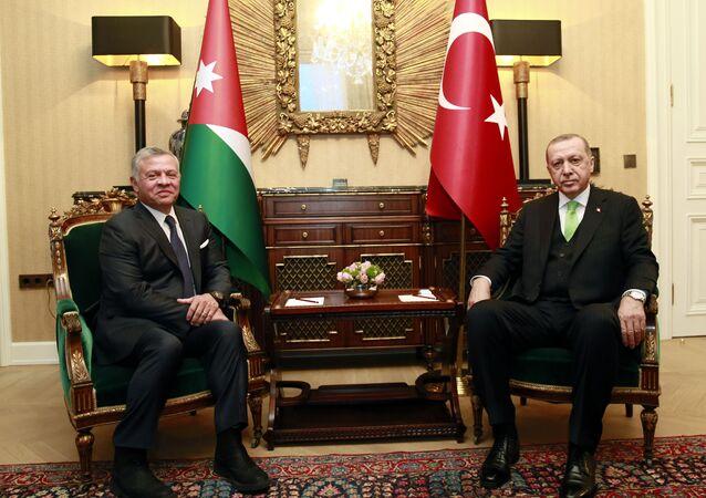 Cumhurbaşkanı Erdoğan, Ürdün Kralı 2. Abdullah ile telefonda görüştü