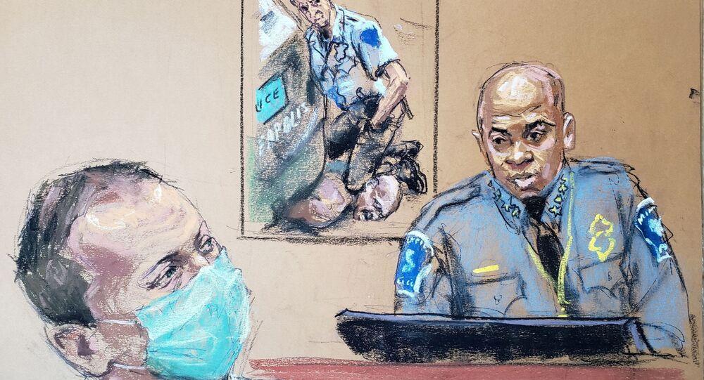 ABD'de George Floyd'un öldürülmesi davasının 6. gününde Minneapolis Polis Şefi Arradondo tanık olarak dinlendi