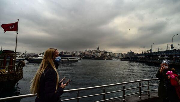 genç, koronavirüs, İstanbul - Sputnik Türkiye