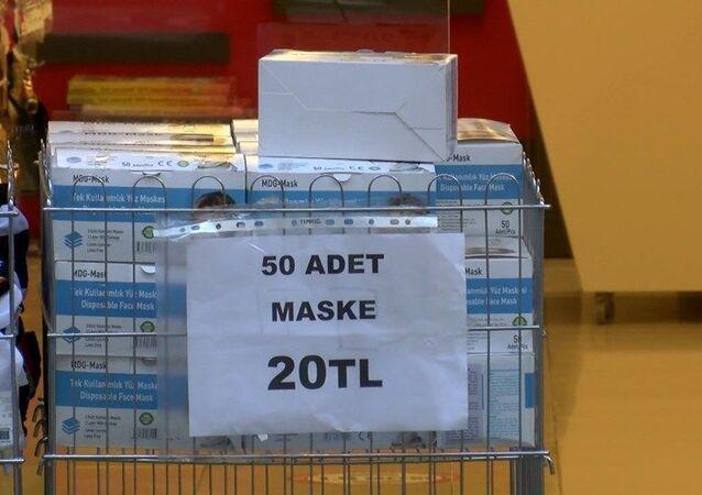 kalitesiz, standartlara uygun olmayan maske, satış, koronavirüs