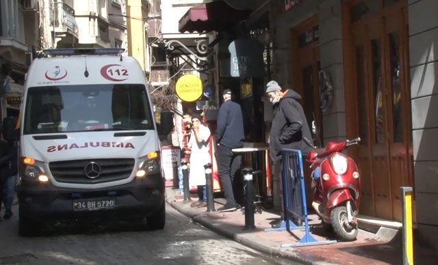 Beyoğlu'nda İsrail uyruklu Türk vatandaşı, otel odasında ölü bulundu
