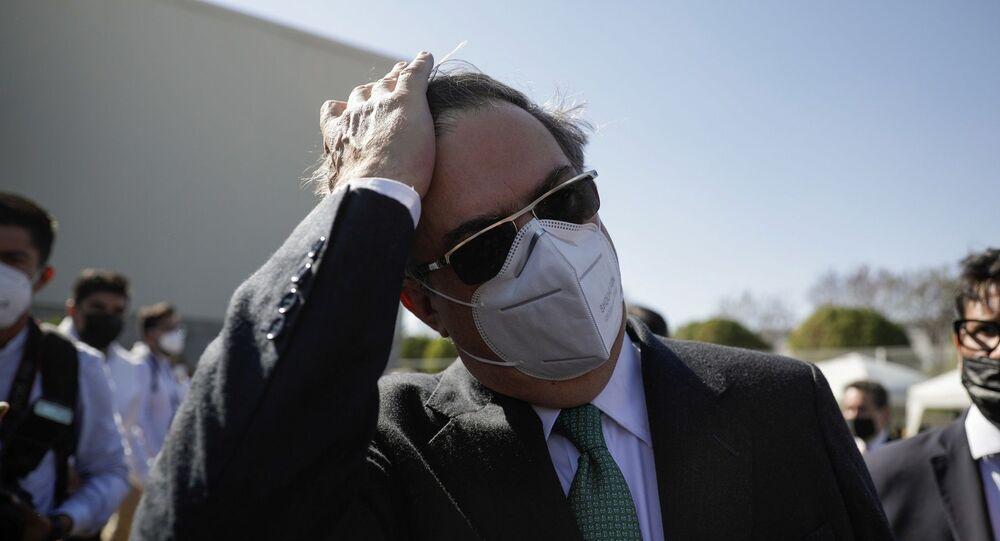 Meksika Dışişleri Bakanı Marcelo Ebrard