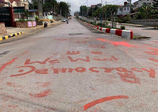 Myanmar'da 'kan eylemi'