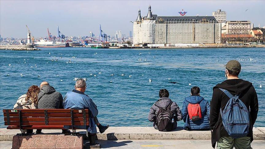İstanbul sıcak hava / sahil kenarı