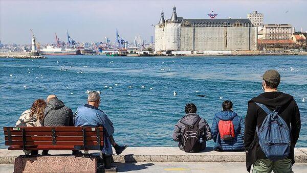 İstanbul sıcak hava / sahil kenarı - Sputnik Türkiye