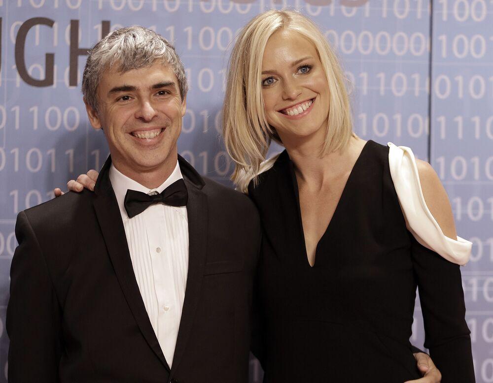 8. Google'ın eş kurucusu Larry Page - 91.5 milyar dolar