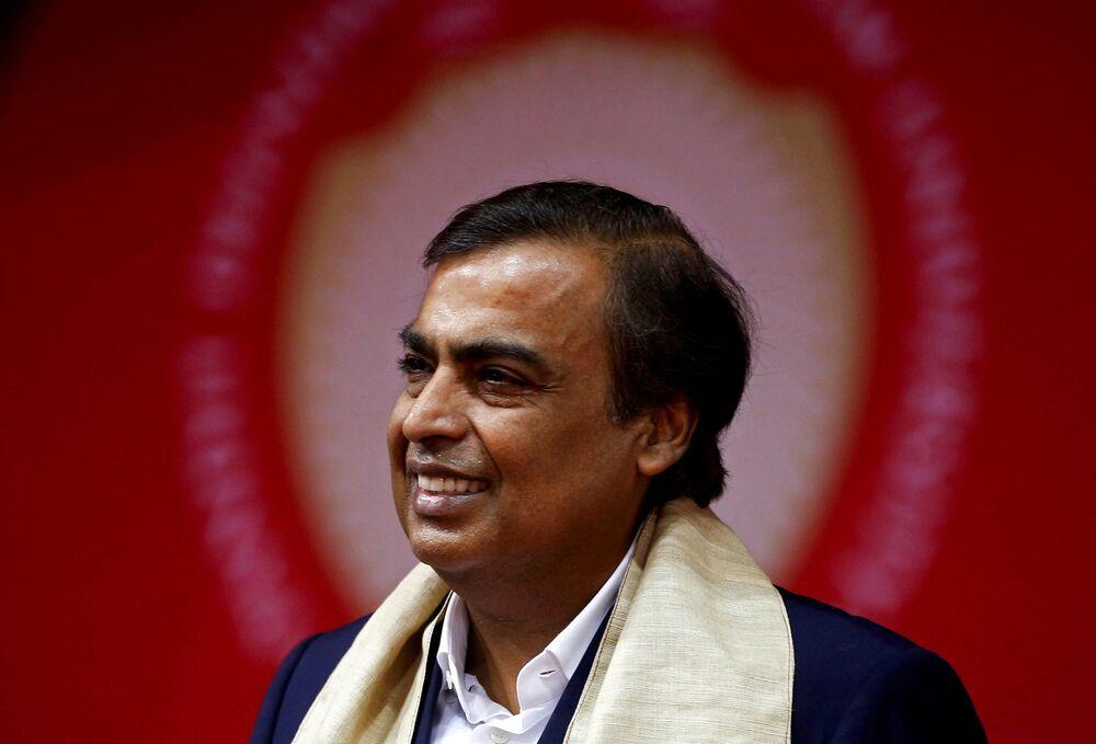 10. Hintli iş adamı Mukesh Ambani - 84.5 milyar dolar