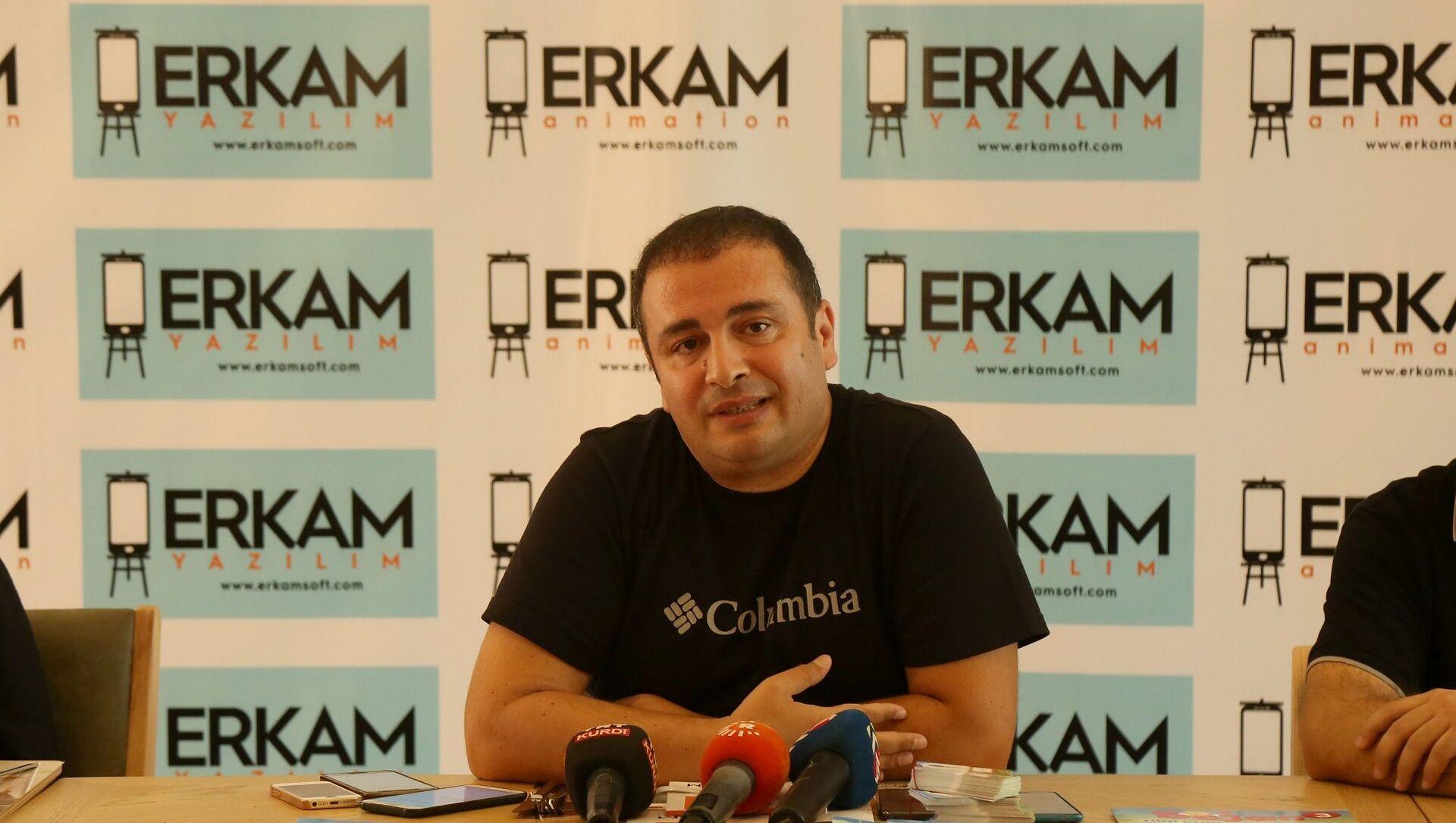 Erkam Yazılım'ın CEO'su Behmen Doğu - Sputnik Türkiye, 1920, 07.04.2021