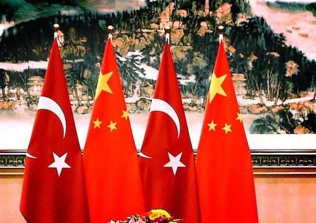 Çin- Türkiye- Bayrak