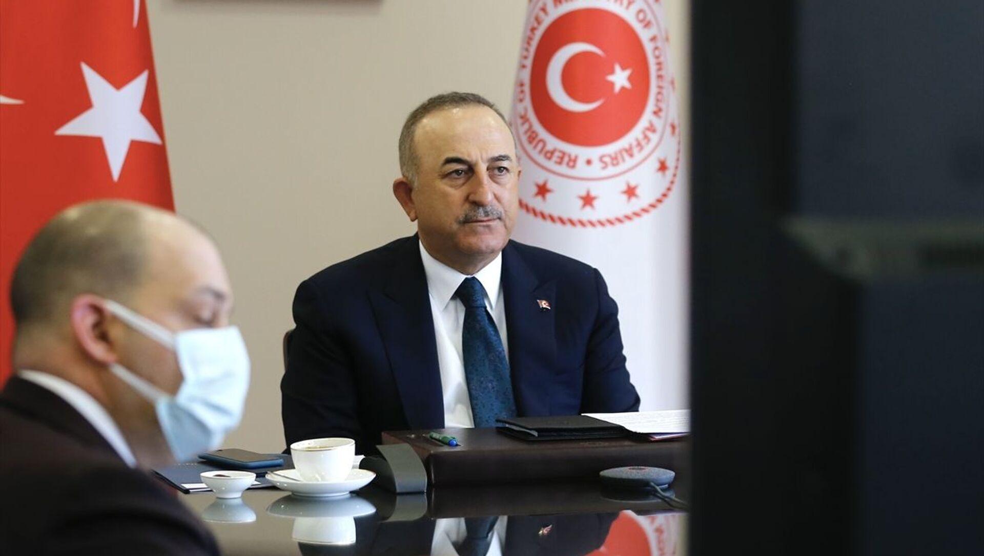 Mevlüt Çavuşoğlu - Sputnik Türkiye, 1920, 07.04.2021