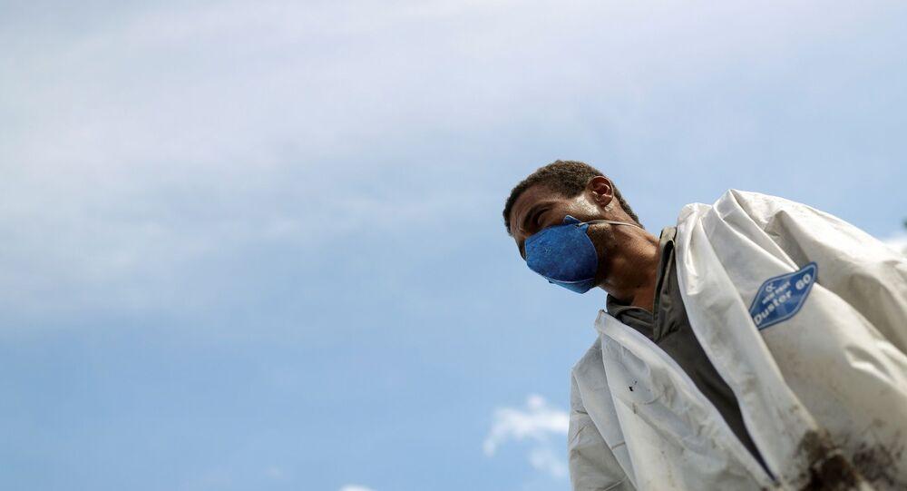 Brezilya'da koronavirüs salgını