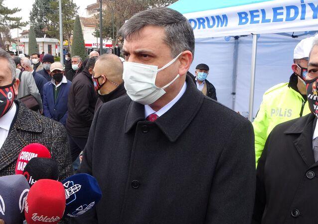 Çorum Valisi Mustafa Çiftçi