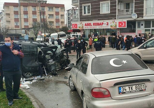 Kocaeli'nin Gebze ilçesindeki kaza