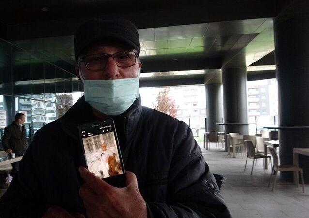 Defnedilen baba hastanede karşılarına çıktı