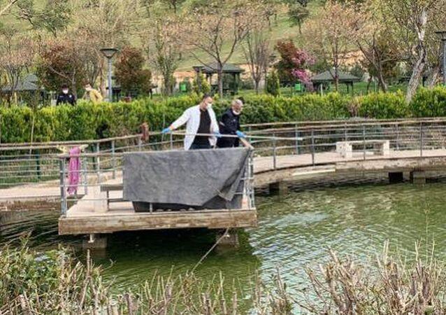 Gaziantep'te, parktaki süs havuzuna giren işitme engelli Halil İbrahim Yıldız (9) boğuldu.