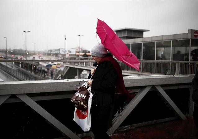 İstanbul / yağmur / fırtına