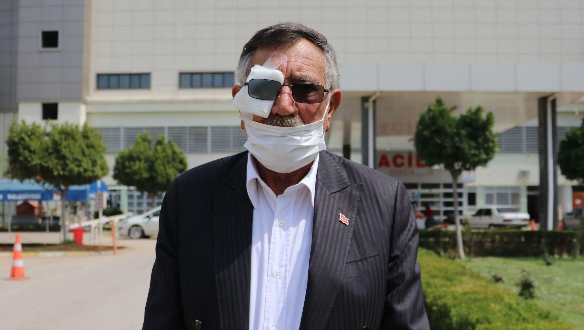 Eski muhtar Mustafa Hayatoğlu, Adana  - Sputnik Türkiye, 1920, 09.04.2021