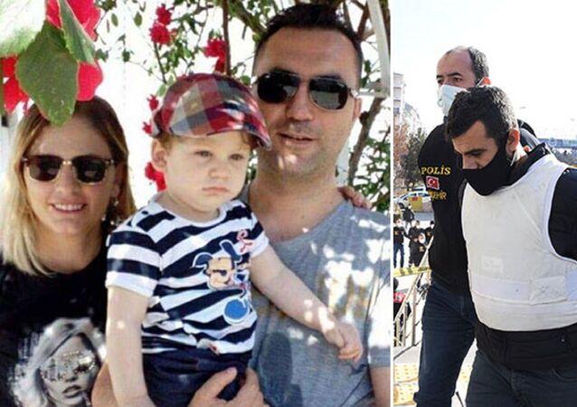 Tokkal çifti ve 4 yaşındaki oğullarının katil zanlısı