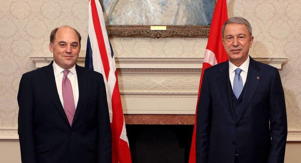 MSB'den Bakan Akar'ın İngiltere ziyaretine ilişkin açıklama - Sputnik Türkiye