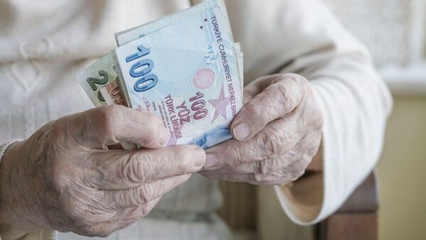 Emekli maaş bayram ikramiyesi - Sputnik Türkiye