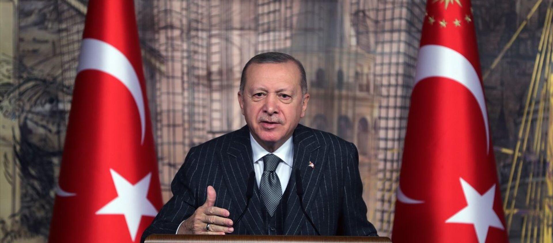 Recep Tayyip Erdoğan - Sputnik Türkiye, 1920, 11.04.2021