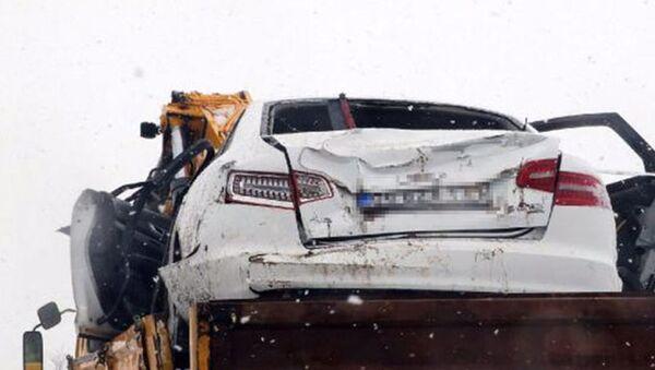 Yargıtay Cumhuriyet Savcısı trafik kazası geçirdi - Sputnik Türkiye
