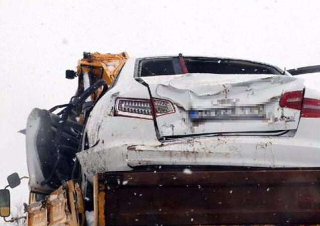 Yargıtay Cumhuriyet Savcısı trafik kazası geçirdi