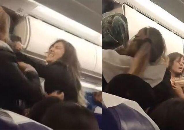Tunus'ta uçakta çıkan kavga, uçuşu 5 saat aksattı