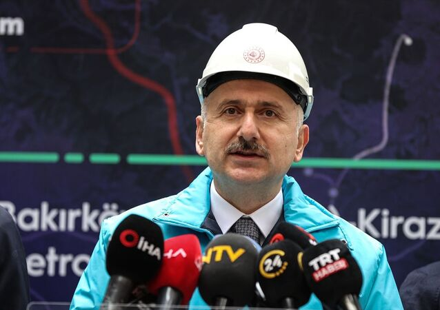 Ulaştırma Bakanı Karaismailoğlu