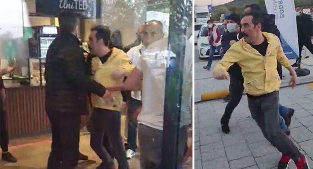 Oyuncu Mustafa Üstündağ karıştığı kavga sonucu gözaltına alındı