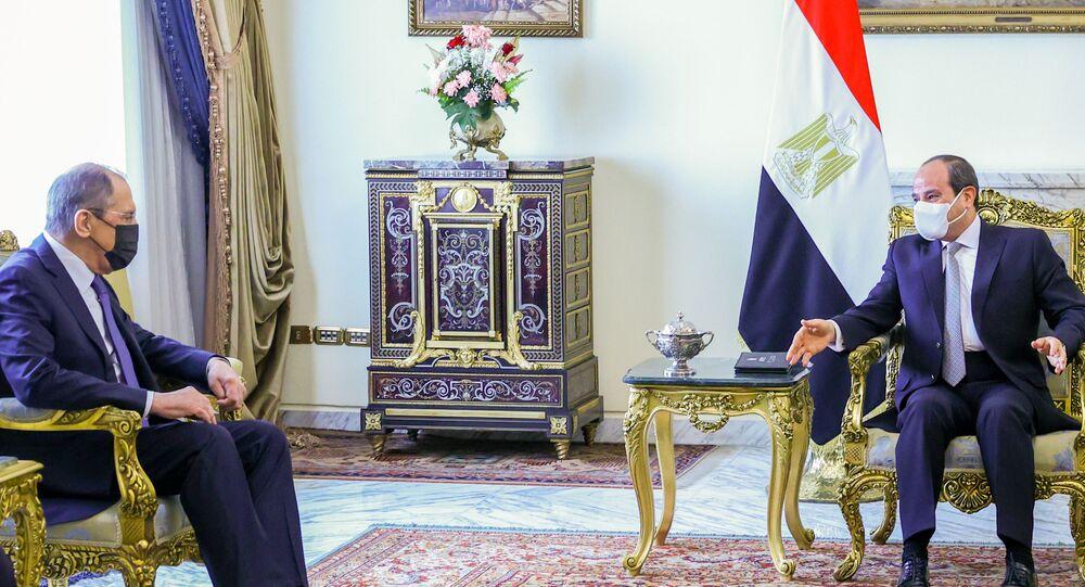 Sergey Lavrov- Abdulfettah el Sisi