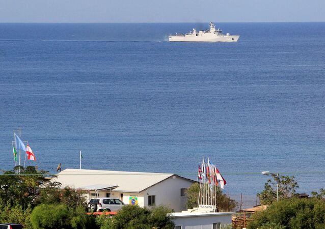 Lübnan'ın güneyinde, İsrail sınırı yakınındaki Nakura'da BM barış gücü UNIFIL üssü