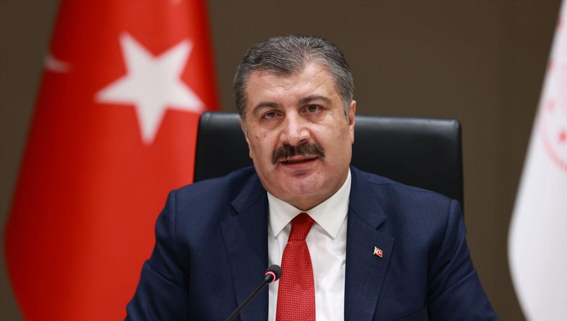 Sağlık Bakanı Fahrettin Koca - Sputnik Türkiye, 1920, 20.05.2021