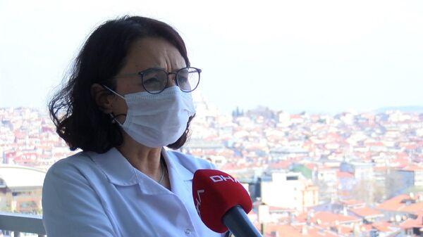 Koronavirüs Bilim Kurulu Üyesi Prof. Dr. Serap Şimşek Yavuz - Sputnik Türkiye
