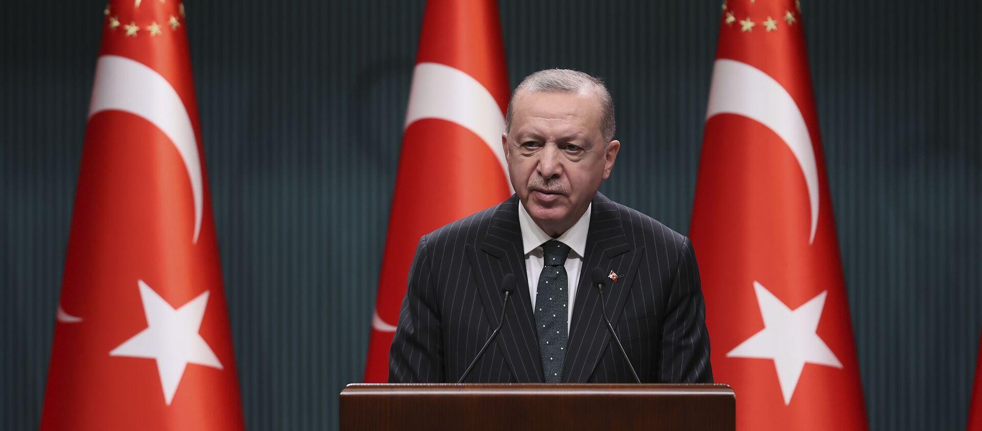 Recep Tayyip Erdoğan - Sputnik Türkiye, 1920, 13.04.2021