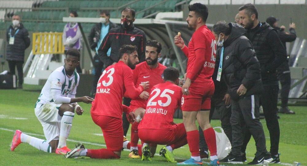 TFF 1. Lig'in 30. haftasında GZT Giresunspor ile Ankara Keçiörengücü, Giresun Çotanak Spor Kompleksinde karşılaştı.