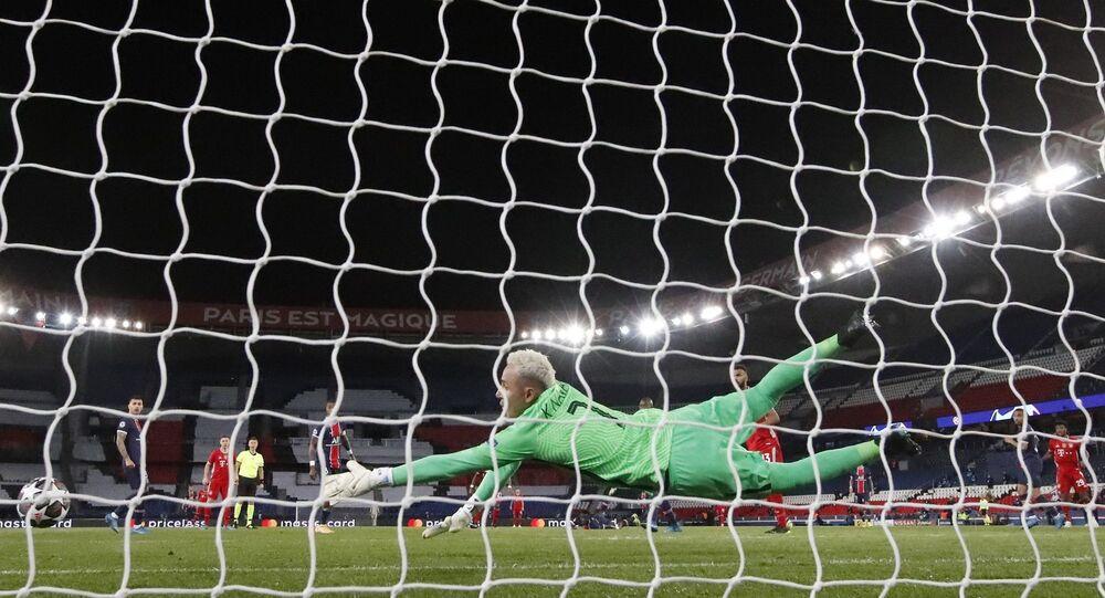 UEFA Şampiyonlar Ligi çeyrek final rövanşında Bayern Münih'e 1-0 mağlup olan PSG ve Porto'ya 1-0 yenilen Chelsea, ikili averajlarda kurdukları üstünlük sayesinde yarı finale yükseldi.