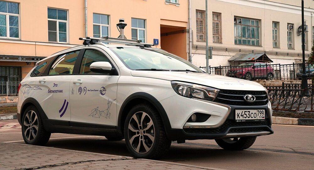 Rusya'nın sürücüsüz yerli otomobili