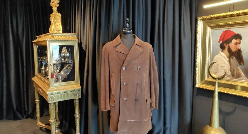 Mustafa Kemal Atatürk'ün güderi ceketi, Müzelik Eserler Müzayedesi