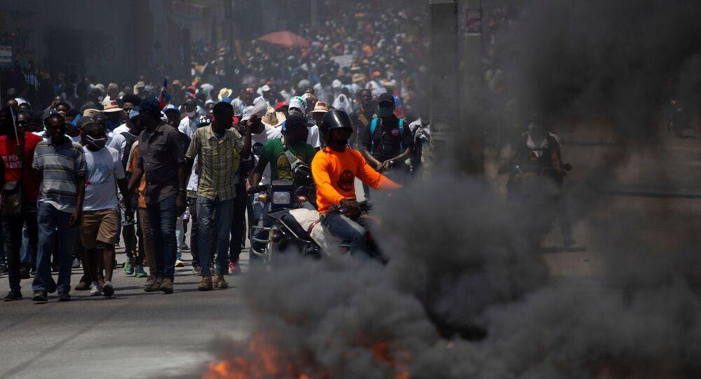 Haiti protestoları