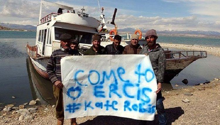 Ercişli balıkçılardan, astronot Kate Rubins'e davet