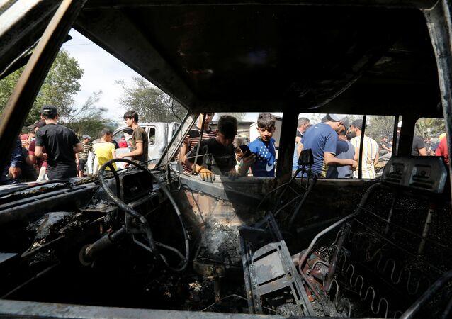 Bağdat - Sadr - patlama