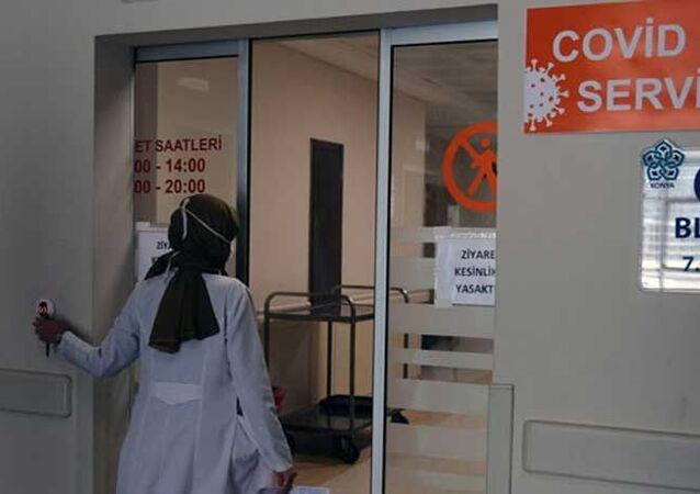 Konya, hastane, koronavirüs