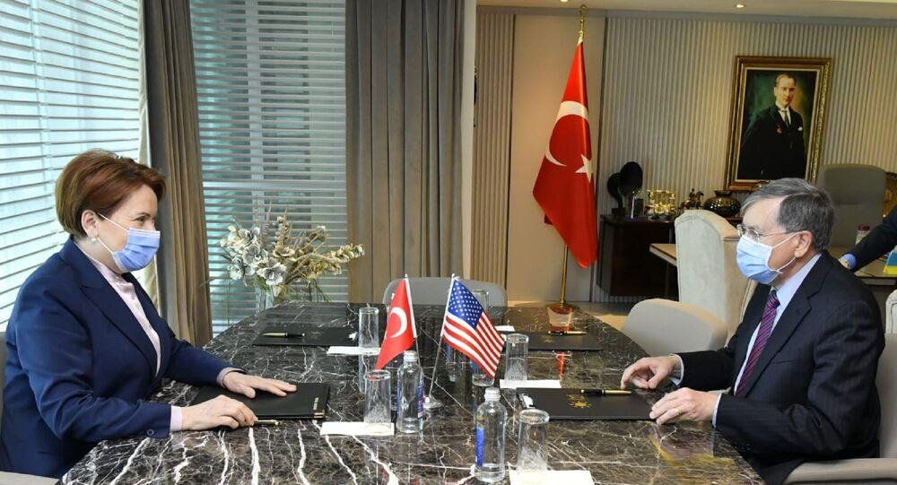 ABD Büyükelçisi Satterfield, İYİ Parti lideri Akşener