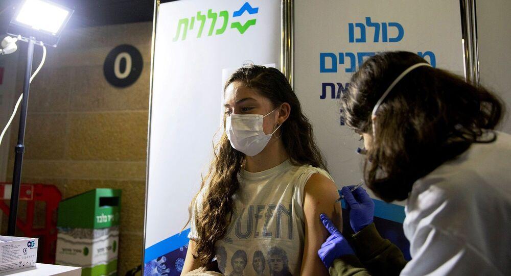 İsrail'de koronavirüse karşı aşılama