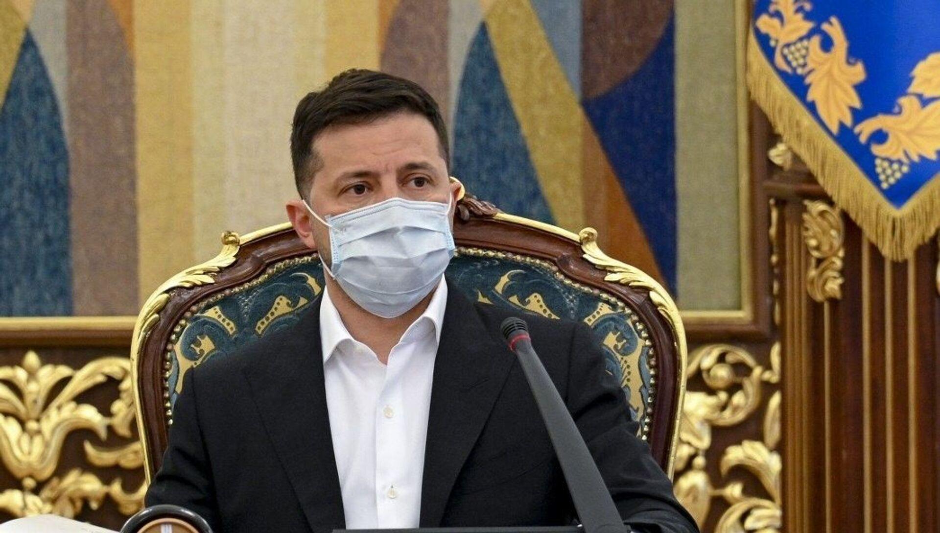 UkraynaDevlet Başkanı Vladimir Zelenskiy - Sputnik Türkiye, 1920, 15.04.2021
