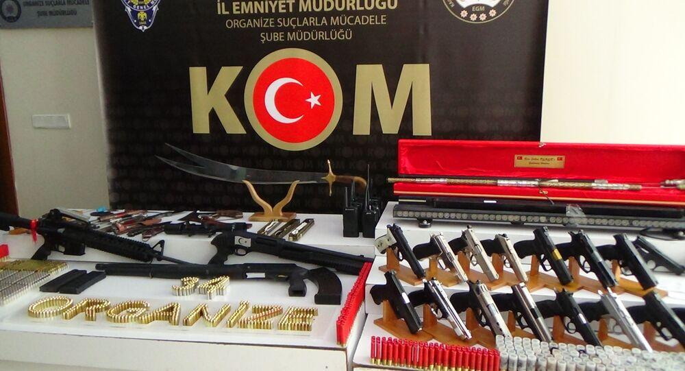 Sedat Peker operasyonunda ele geçirilen silah ve mühimmatlar